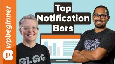 8 Best WordPress Notification Bar Plugins Compared