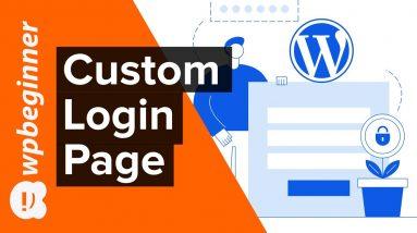 How to Create a Custom WordPress Login Page