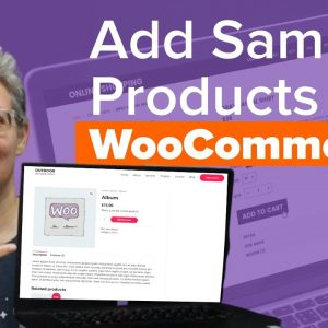 How to Add Sample Data in WooCommerce with Product Images