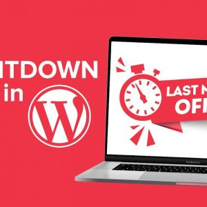 How to Add a Countdown Timer Widget in WordPress [UPDATED]